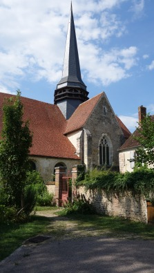 Eglise Saint Germain vue du Gîte