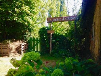 Entrée du Jardin d'Octave